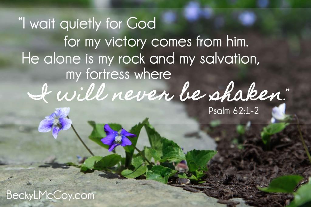 Psalm 62.1-2