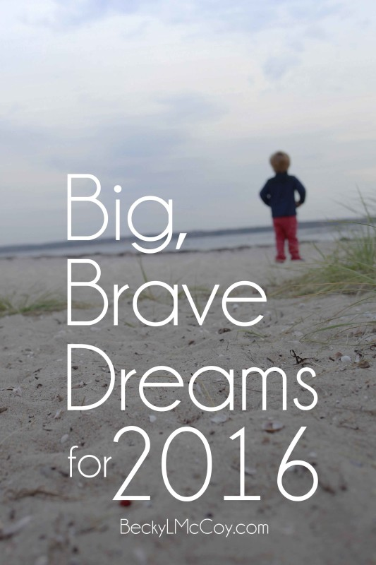 big brave dreams for 2016