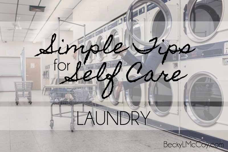 self care laundry