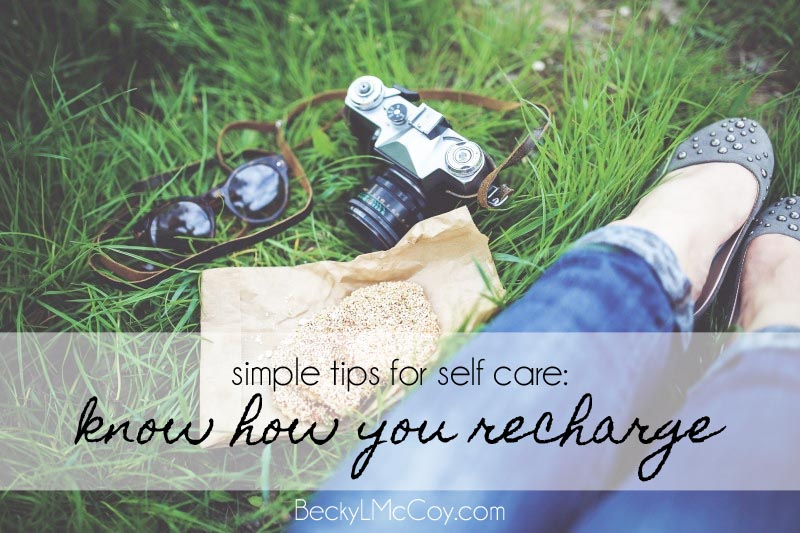 self care recharge