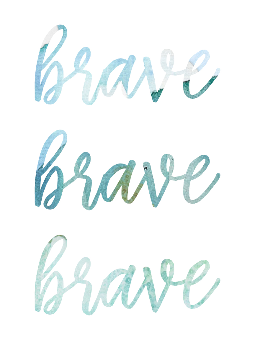 Brave Notebook Spring | BeckyLMcCoy.com/shop