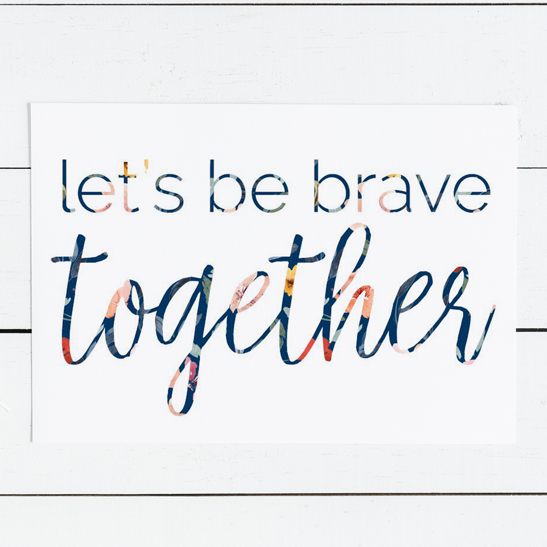 BRAVEtogether Shop | BeckyLMcCoy.com